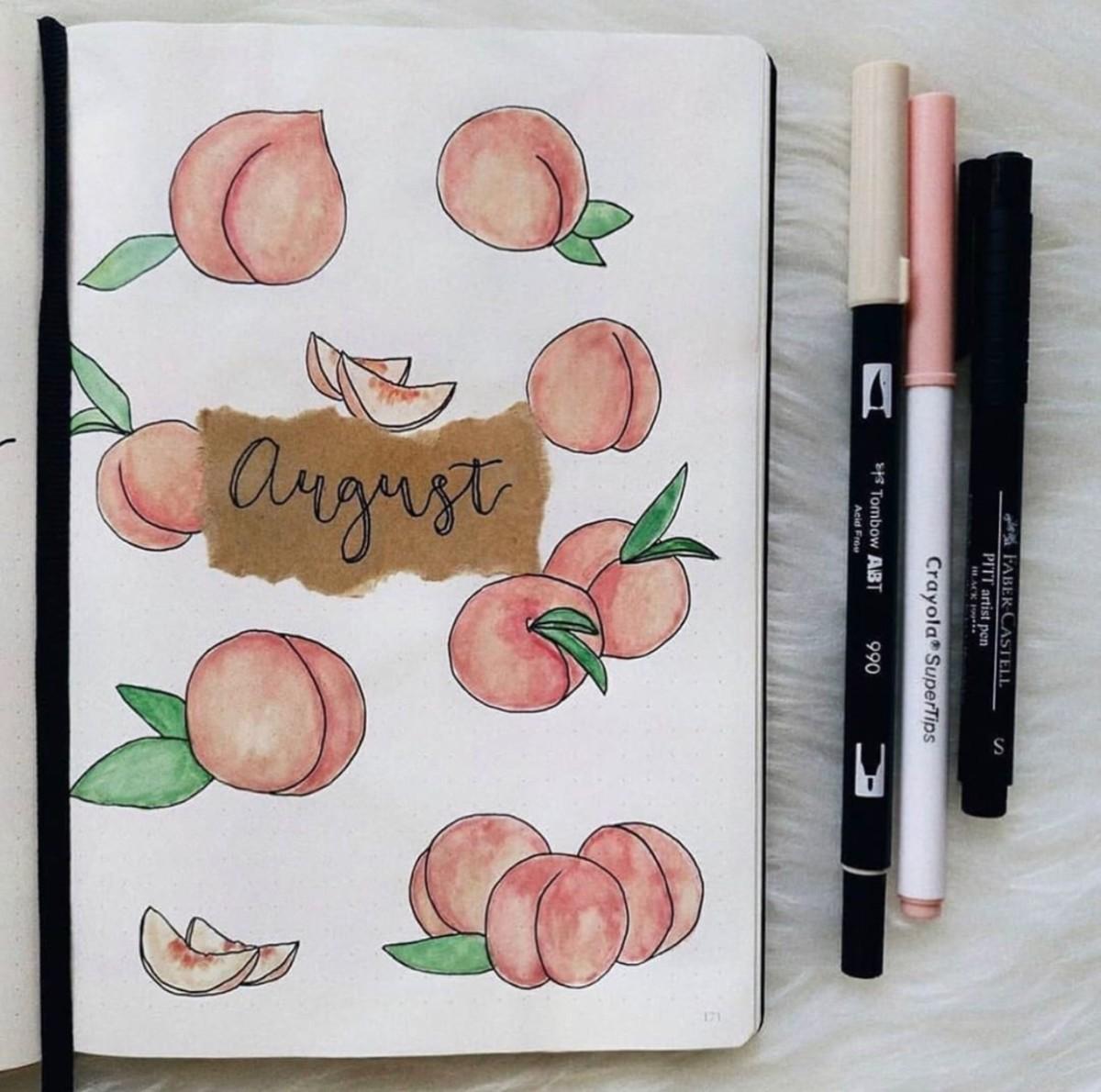 20 Fruit Bullet Journal Spread Ideas   atinydreamer